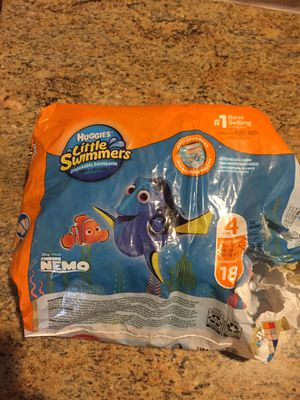 Huggies swimmers size 4 for Sale in Fairview, TX