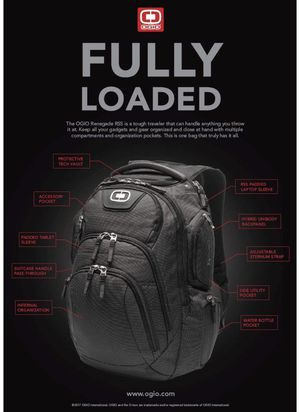 """Ogio Renegade RSS 17"""" laptop Backpack for Sale in CO, US"""