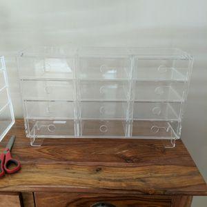 Acrylic Storage Organizer With 12 Drawers for Sale in Orange, CA