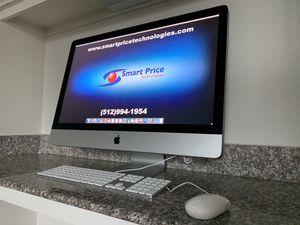 iMac 27 inch Desktop Computer Quad Core 1TB 16GB SSHD fast + Warranty Please read description for Sale in Manchaca, TX