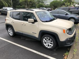2015 Jeep Renegade Latitude, 58k mi, 1 owner, perfect condition for Sale in Kaneohe, HI