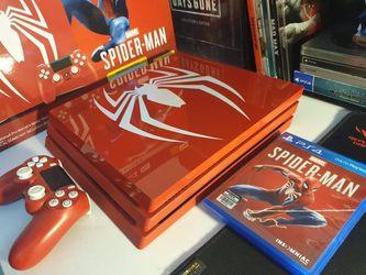 SPIDER-MAN PLAYSTATION 4PRO for Sale in Billingsley,  AL