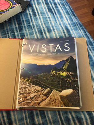 BRAND NEW VISTAS INTRODUCCION A LA LENGUA ESPAÑOLA for Sale in Los Angeles, CA