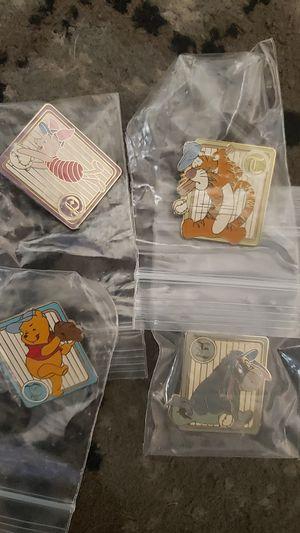 Disney winnie the pooh baseball pin set for Sale in Huntington Park, CA