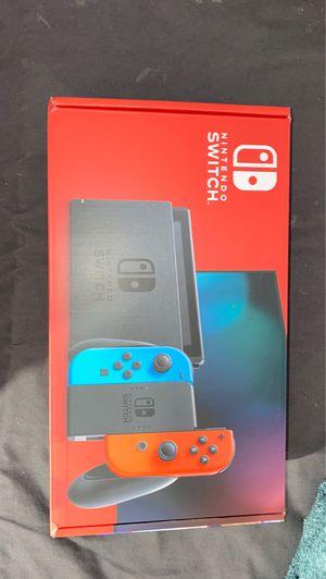 Nintendo Switch, 32GB - Neon Blue& Red Joy Con - BRAND NEW, UNOPENED for Sale in Anaheim, CA