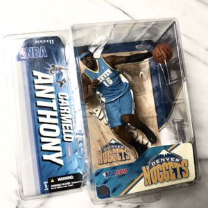Brand New in Box 🏀 Carmelo Anthony NBA Series 11 McFarlane Action Figure 2006 🏀 for Sale in Redmond, WA