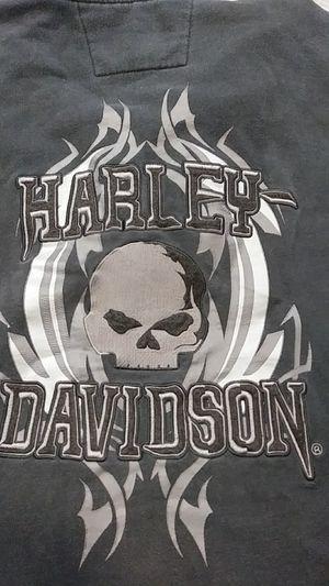 Harley Davidson Embroidered Sweater Hoodie Skull Biker Gear Motorcycle for Sale in Phoenix, AZ