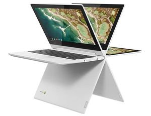 Lenovo C330 11.6 Touchscreen 4 in 1 Convertible Chromebook this includes a carrying case and 4 port USB Hub for Sale in Fargo, ND