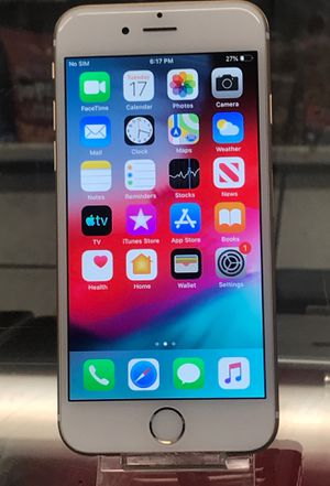 iPhone 6 gold factory unlocked to any carrier for Sale in St. Louis, MO