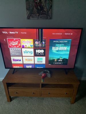 55 inch tcl Roku tv for Sale in Apex, NC