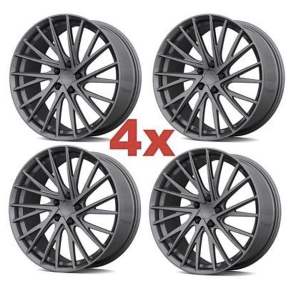 18' Wheels Rims Tires Toyota Camry 2003 2004 2005 2006