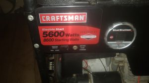 Craftman 5600watt generator for Sale in Fallbrook, CA