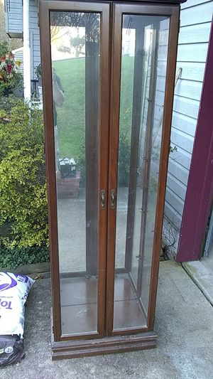 Wood cabinet for Sale in Crofton, MD