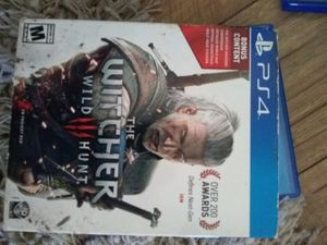 Witcher 3 ps4 for Sale in Cobbtown, GA