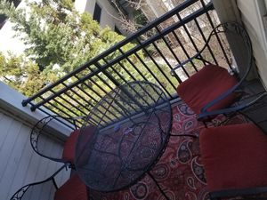 Balcony Patio Furniture, Set of 4 for Sale in Sterling, VA