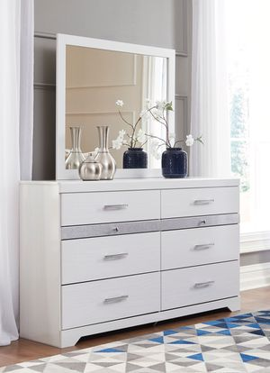 Ashley Furniture Dresser, White for Sale in Fountain Valley, CA
