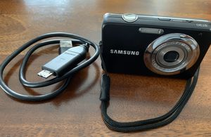 Compact Digital Camera | Samsung ST30 10 MP incl. Bag for Sale in Virginia Beach, VA