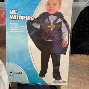 vampire toddler costume for Sale in Redmond, WA
