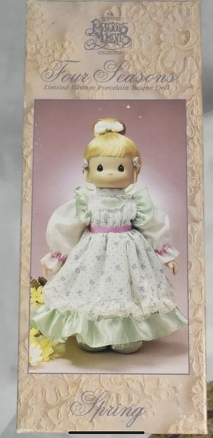 "Precious moments ""spring"" limited edition doll for Sale in North Haven, CT"