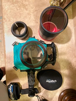 AquaTech Canon 6D Elite Water Housing (great condition) for Sale in Lakewood, CA