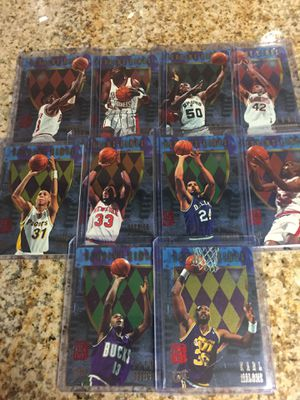 Baseball, basketball cards, Scoring kings inserts $10 for Sale in Los Angeles, CA