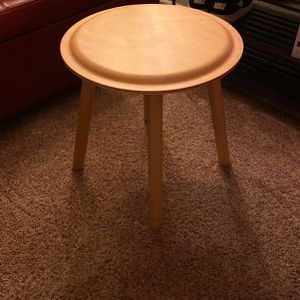 Ikea wood side table/stool for Sale in San Diego, CA
