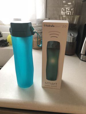 Hidrate smart water bottle for Sale in Falls Church, VA