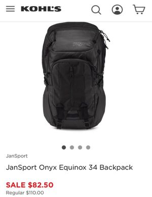 JanSport onyx equinox 34L backpack for Sale in West Covina, CA