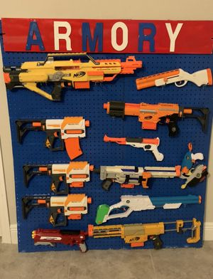 Nerf gun armory for Sale in Cape Coral, FL