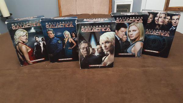 Battlestar Galactica Season 1,2,3,4 and 4.5