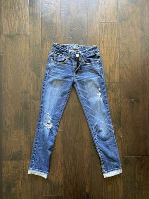 American Eagle Distresses Jeans Sz0 for Sale in Pineville, LA