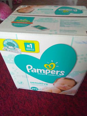 Pampers wipes box for Sale in Moorpark, CA