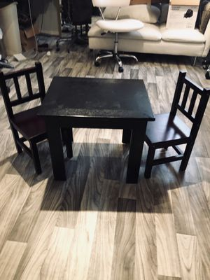 Kids table and chairs for Sale in Lynnwood, WA