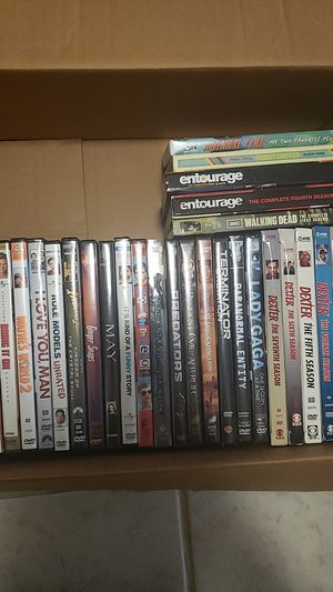 Various movies and series for Sale in Detroit, MI