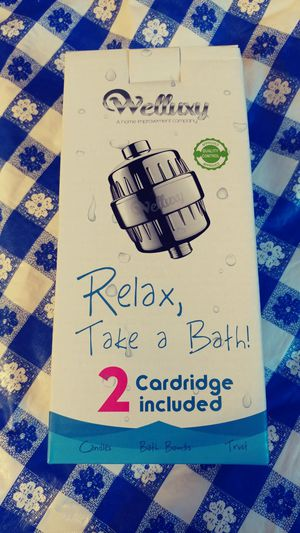 12 stage shower filter with 2 cartridges for Sale in Alexandria, VA