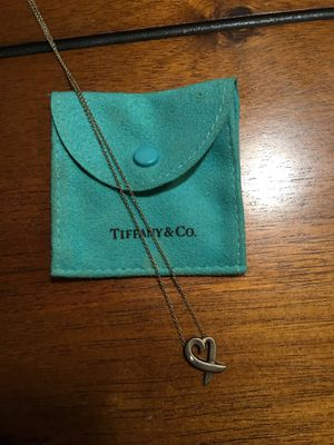 Tiffany Heart Necklace for Sale in Prather, CA