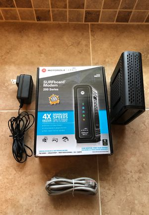Motorola Arris Cable Modem (SB6121) Docsis 3.0 for Sale in Hollywood, FL