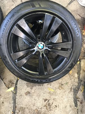 "17"" bmw rim with tire for Sale in The Bronx, NY"