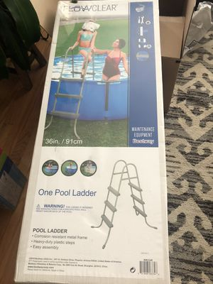 Pool Ladder Flow Clear for Sale in Chicago, IL