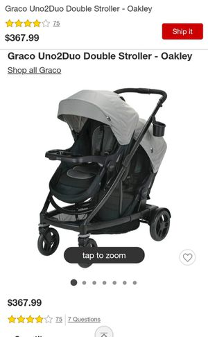 Graco double stroller for Sale in Costa Mesa, CA