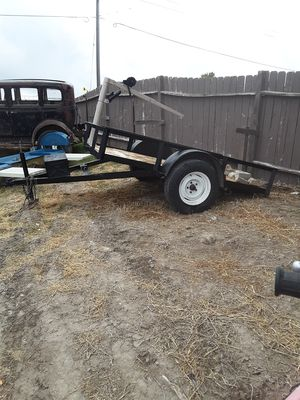 5'X8'tilt bed trailer for Sale in Erda, UT