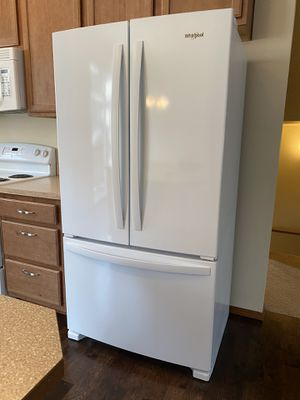 2018 Whirlpool White Counter Depth Refrigerator for Sale in Bothell, WA