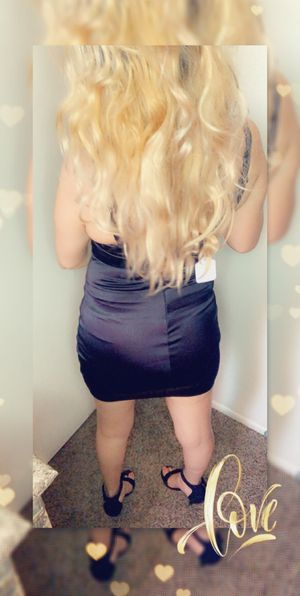 Classic Black Dress with zipper on the back for Sale in Glendale, AZ