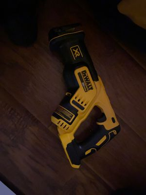 Dewalt reciprocating tool only for Sale in Inglewood, CA