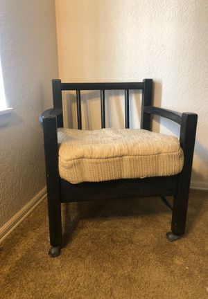Vintage solid wood chair for Sale in Bellingham, WA
