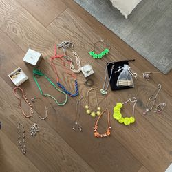 Large Jewelry Set JCrew & Pandora Colorful for Sale in Orange,  CA