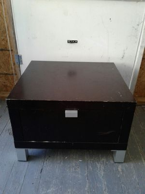 EQ3 Small End Table or Coffee Table!! Solid wood!! Sturdy With Drawer Underneath For Storage!! for Sale in Lansing, MI