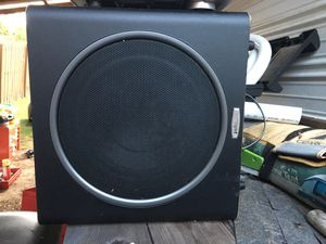 Polk audio sub and Sony head unit for Sale in North Augusta, SC