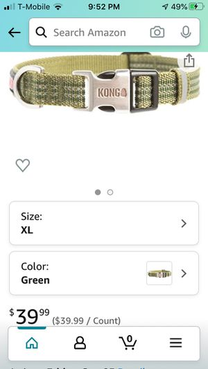 Kong Reflective Dog Collar (L-XL Breed) for Sale in Clarks Summit, PA