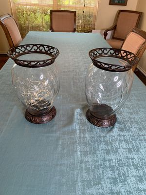 Pier 1 Decorative Candle Holders for Sale in Helotes, TX